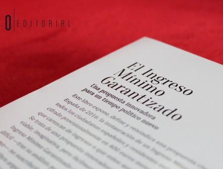 'El Ingreso Mínimo Garantizado': el estreno de Ricardo Almenar en la autopublicación